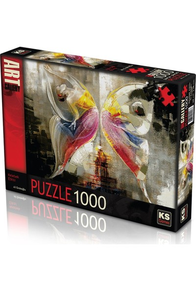 KS 11257 Puzzle 1000/KELEBEK Etkisi Ali Em Puzzle 1000 Parça