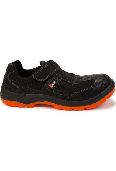 Beta Force Kompozit Burunlu Cırtlı Yazlık Iş Ayakkabısı - Turuncu