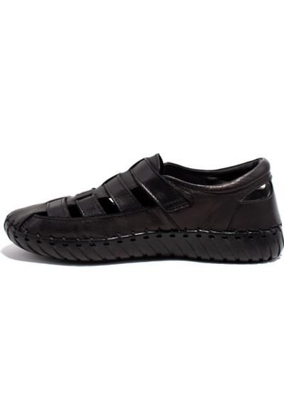 Polaris 103276 Siyah Günlük Kadın Deri Ayakkabı