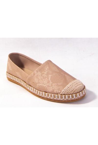 Dagoster Caprito 402-21601 Ten Günlük Espadril Kadın Babet Ayakkabı