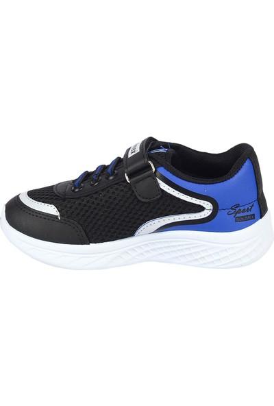 Bolimex 3350 Siyah Cırtlı Erkek Çocuk Spor Ayakkabı