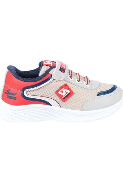 Bolimex 3350 Gri Cırtlı Erkek Çocuk Spor Ayakkabı