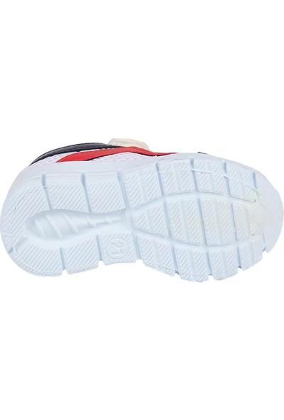 Bolimex 3565 Beyaz Cırtlı Erkek Çocuk Bebe Spor Ayakkabı