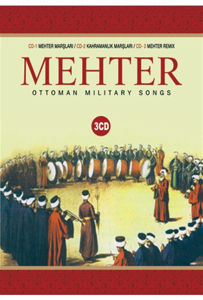 Mehter-Ottoman Military Songs 3Cd