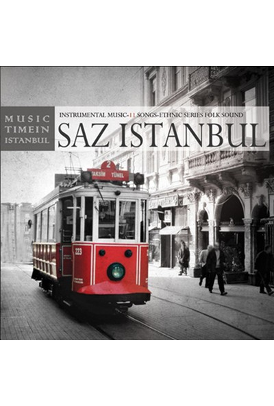 Saz Istanbul-Saz Istanbul - CD
