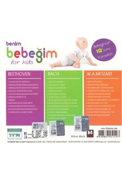 Benim Bebeğim-For Kids - Beethoven - Mozart - Bach 3Cd