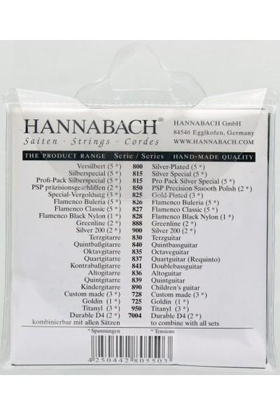 Hannabach 850 mt Klasik Gitar Teli