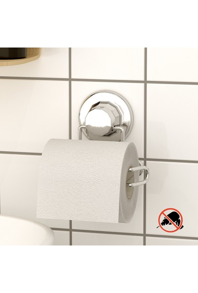 Tekno-tel Vakumlu Tuvalet Kağıtlık Krom DM271