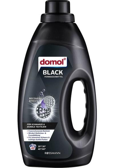 Domol Çamaşır Makinesi Deterjanı Sıvı 1500 ml Siyah 40 Yıkama