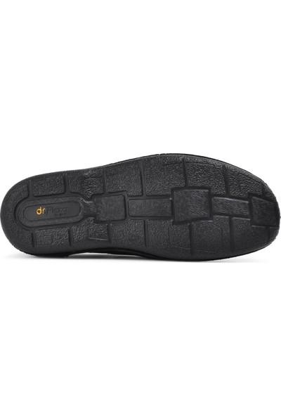 Dr.Flexer Siyah Deri Erkek Günlük Ayakkabı