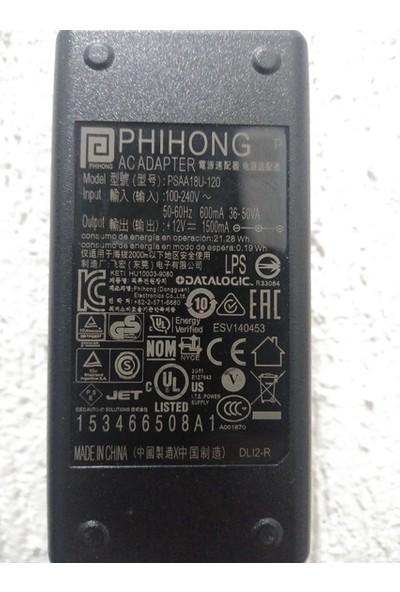 Phihong 12V 1.5A Dc Pedal Adaptör