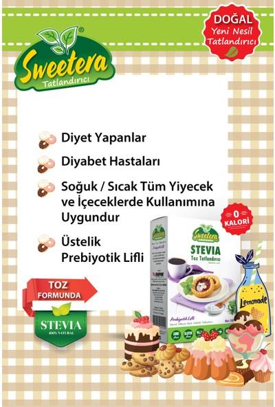 Sweetera Stevia Prebiyotik Lifli Tatlandırıcı Toz 500 gr + 100 Tablet+ Preven El Temizleme Mendili