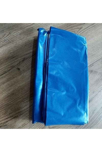 Hoşgör Plastik Dökme Çöp Torbası Poşeti Kalın 80X110 Mavi (20 K gr)