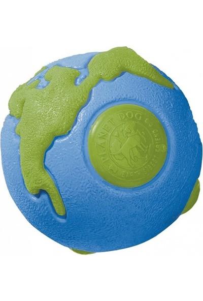 Outward Hound Outwardhound Orbee Ball Mavi-Yeşil Gezegen Ödül Koyulabilen Köpek Oyuncağı