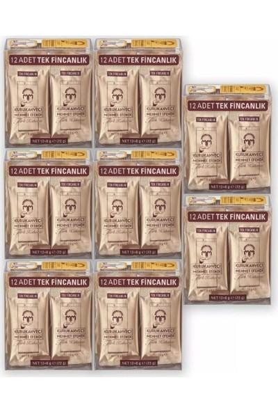 Kurukahveci Mehmet Efendi Tek Fincanlık 12 x 6 gr 8 'li Paket