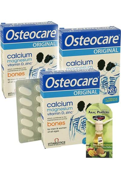 Osteocare 30 Tablet x 3 Adet + Araba Parfümü