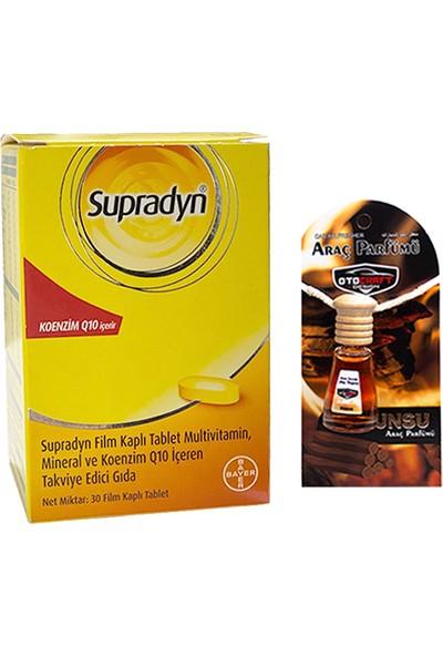 Supradyn Koenzim Q10 30LU Tablet + Araba Parfümü