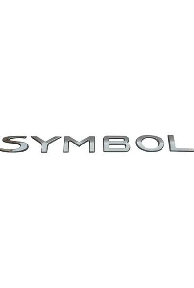 Opr Symbol Yazısı (Renault Symbol Arka Bagaj)