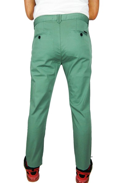 Bigazzi Erkek Keten Pantalon Slim Fit 37200-1114