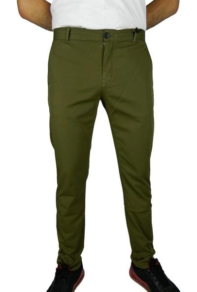 Bigazzi Erkek Keten Pantalon Slim Fit 37200-1117