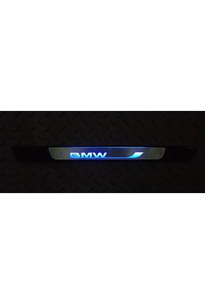 Bullcar Işıklı Pilli Kapı Eşiği Mavi Bmw