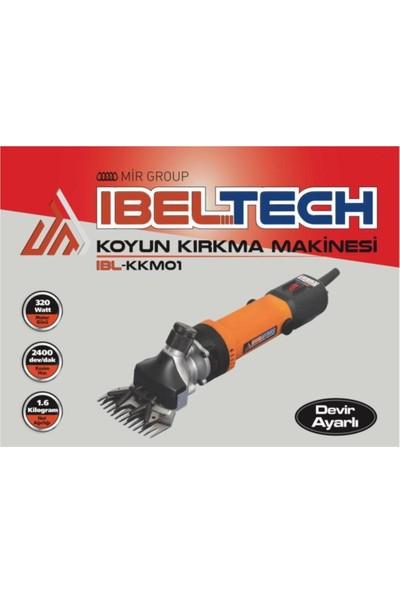 Ibeltech 320W Metal Dişli Koyun Keçi Kırkım Makinası Devir Ayarlı