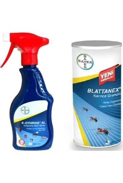 Bayer K-Othrine Al 500 ml Haşere ve Blattanex Karınca Granülü 80 gr