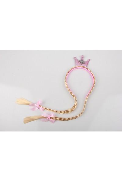 Sea Bubbles Prenses Kar Tanesi Saç Örgülü Kız Çocuk Taç