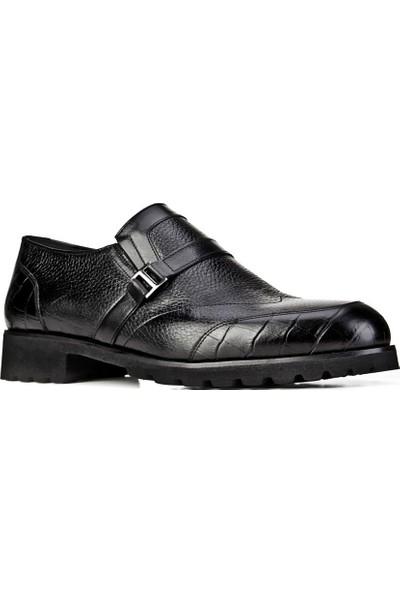 Cabani Erkek Croco Baskılı Light Taban Bağcıksız Günlük Ayakkabı 7303