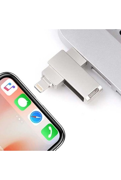 Mars Flash 256 GB Lightning Cihazlar Için USB Bellek