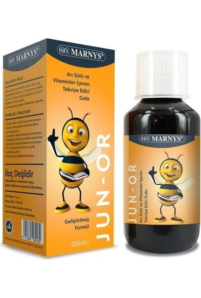 Marnys Junior Multivitamin Arı Sütü Şurubu 125 ml
