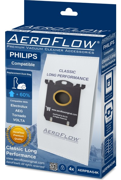Aeroflow Philips Jewel Fc 9050 - Fc 9079 Toz Torbası