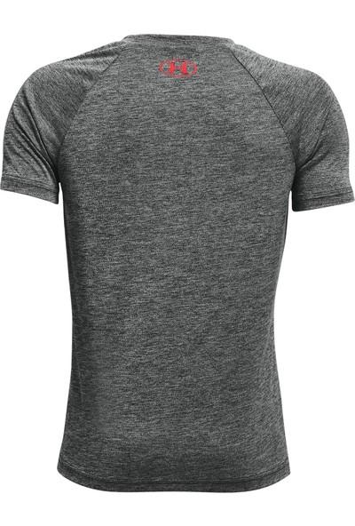 Under Armour - T-Shirt - Ua Tech Split Logo Hybrid Ss