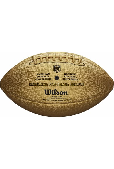 Wilson The Duke Metallic Edition Amerikan Futbolu Topu