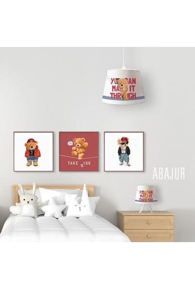 Popcorn Kids Teddy Bear Konik Abajur