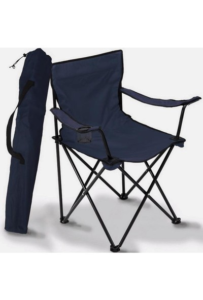Housepack Katlanır Kamp Sandalyesi-Rejisör Koltuğu-Taşıma Çantalı Lacivert