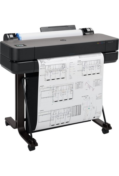 "Hp 5HB09A Designjet T630 24"" (A1) Yazıcı"