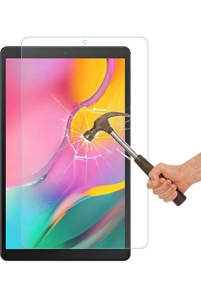 Hypercep Samsung Galaxy Tab A7 T500 T505 Kılıf 10.4 360 Standlı Dönebilen Tablet Kılıfı Nano Kırılmaz Cam Seti