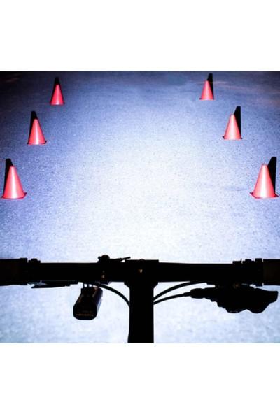 Schulzz Rockbros 400 Lümen Su Geçirmez LED Bisiklet Farı El Feneri