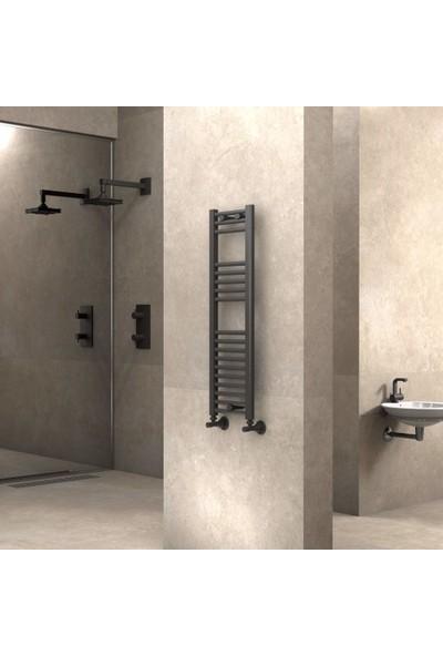 Radiva Banyo ve Mutfak Için Havlupan 300X1000 Düz Antrasit