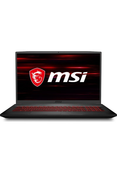 "MSI GF75 Thin 10SC-004XTR Intel Core i7 10750H 16GB 512GB SSD GTX 1650 Freedos 17.3"" FHD Taşınabilir Bilgisayar"