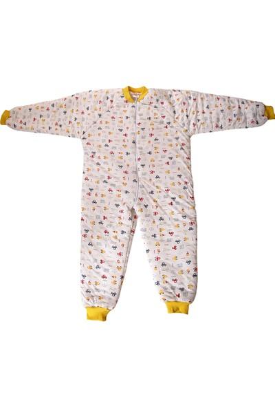 Özlem Bebe 7-12 Yaş Arası Sarı Ara Dolgu Uyku Tulumu