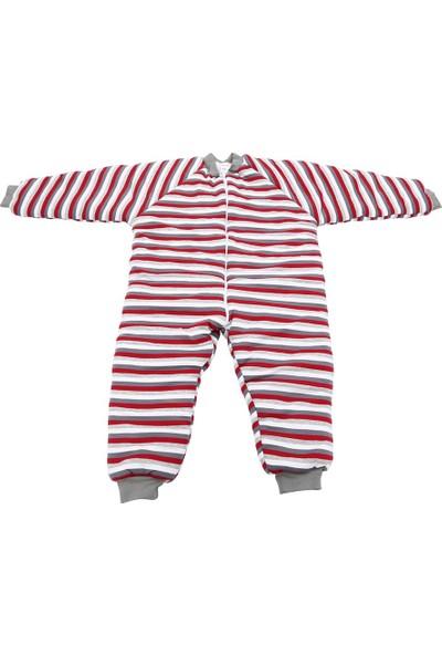 Özlem Bebe 13-16 Yaş Arası Gri Elyaflı Uyku Tulumu