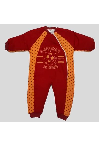 Özlem Bebe 1-4 Yaş Arası Sarı Kırmızı Uyku Tulumu