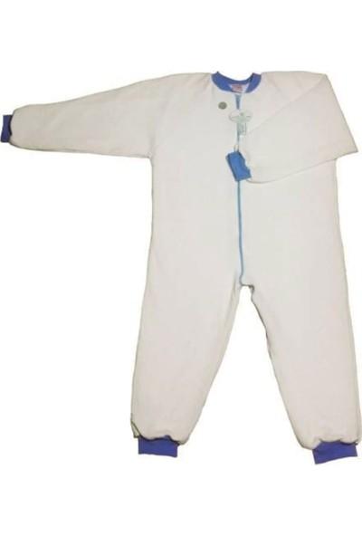 Özlem Bebe 7-12 Yaş Arası Pamuk Uyku Tulumu Mavi