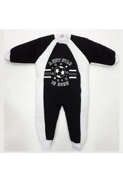 Özlem Bebe 1-6 Yaş Arası Siyah Beyaz Uyku Tulumu