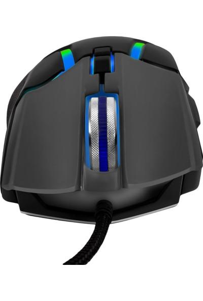 MF Product Strike 0589 Rgb Kablolu Gaming Mouse Siyah