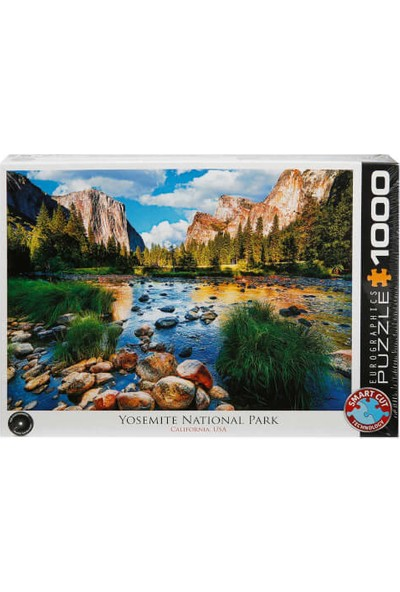 1000 Parça Puzzle : Yosemite National Park