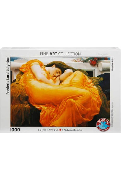 1000 Parça Puzzle : Flaming June - Frederic Leighton