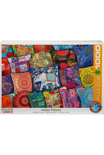 1000 Parça Puzzle : Indian Pillows